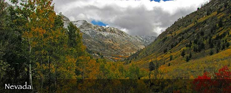 Lamoille Canyon Scenic Byway, Nevada
