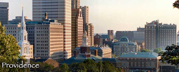 The Providence skyline