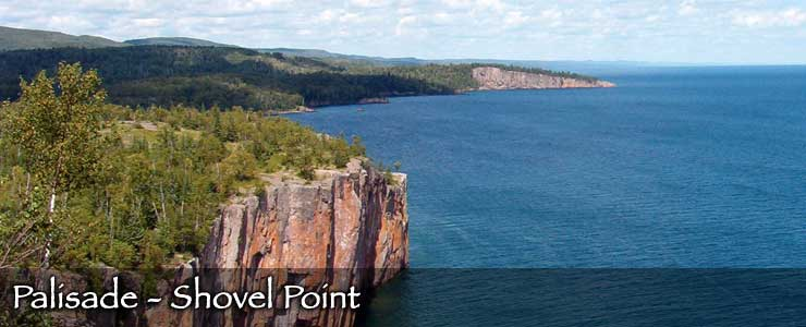 Palisade Head at Shovel Point on Lake Superior