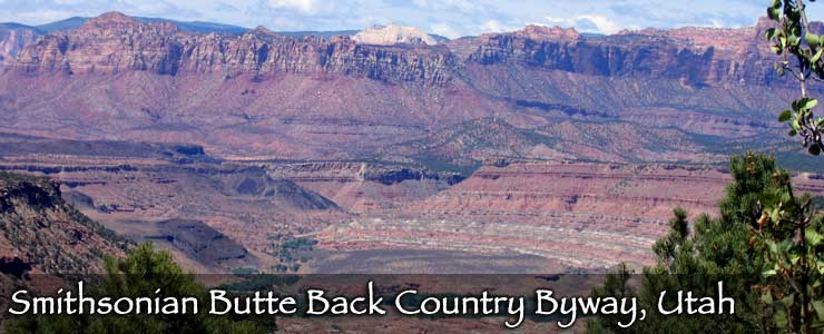 Smithsonian Butte Backcountry Byway, Utah