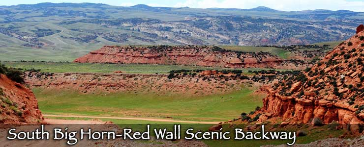 South Big Horn-Red Wall Scenic Backway