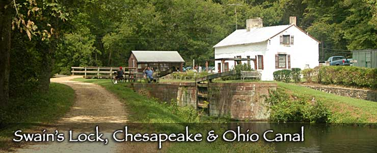 Swains Lock on the Chesapeake and Ohio Canal, a National Historic Site