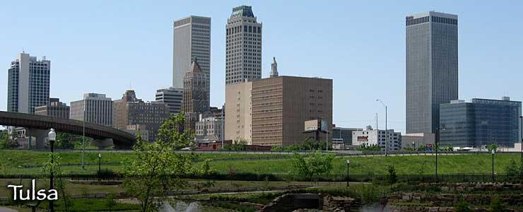 The Tulsa skyline