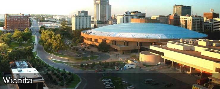 The Wichita skyline