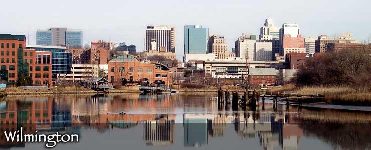 The Wilmington skyline