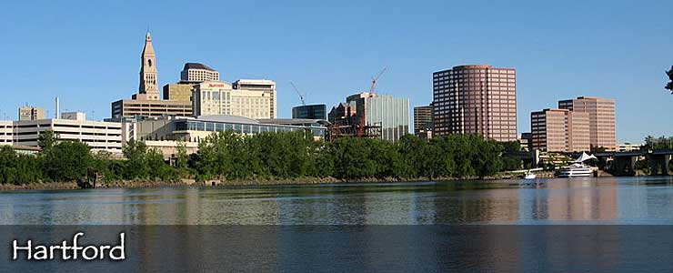 The Hartford skyline