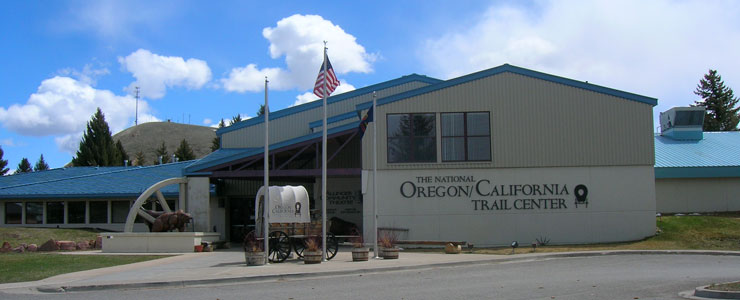 The Oregon/California Trails Interpretive Center in Montpelier, Idaho
