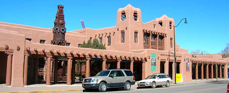 The Museum of American Indian Arts in Santa Fe