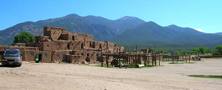 The North House at Taos Pueblo