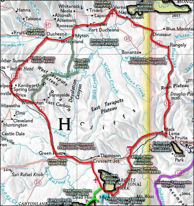Indian Canyon Scenic Drive | The Sights and Sites of America