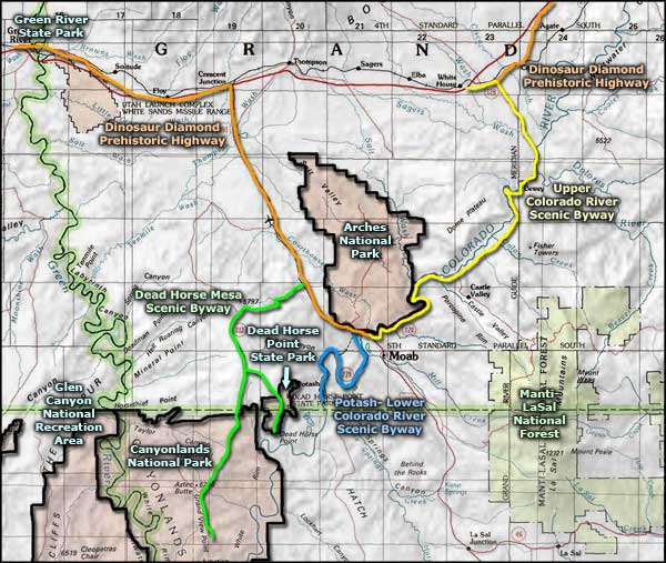 Highway 128 Colorado River Scenic Byway | The Sights and Sites of ...