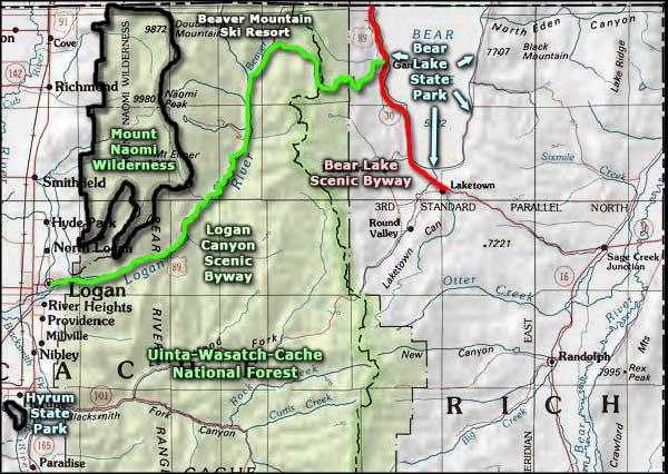 Paradise Utah Map.Paradise Utah The Sights And Sites Of America