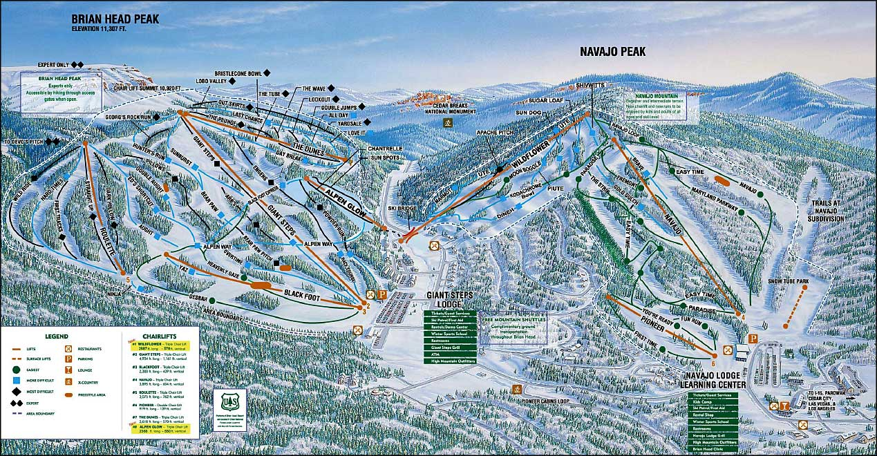 brian head ski resort | the sights and sites of america