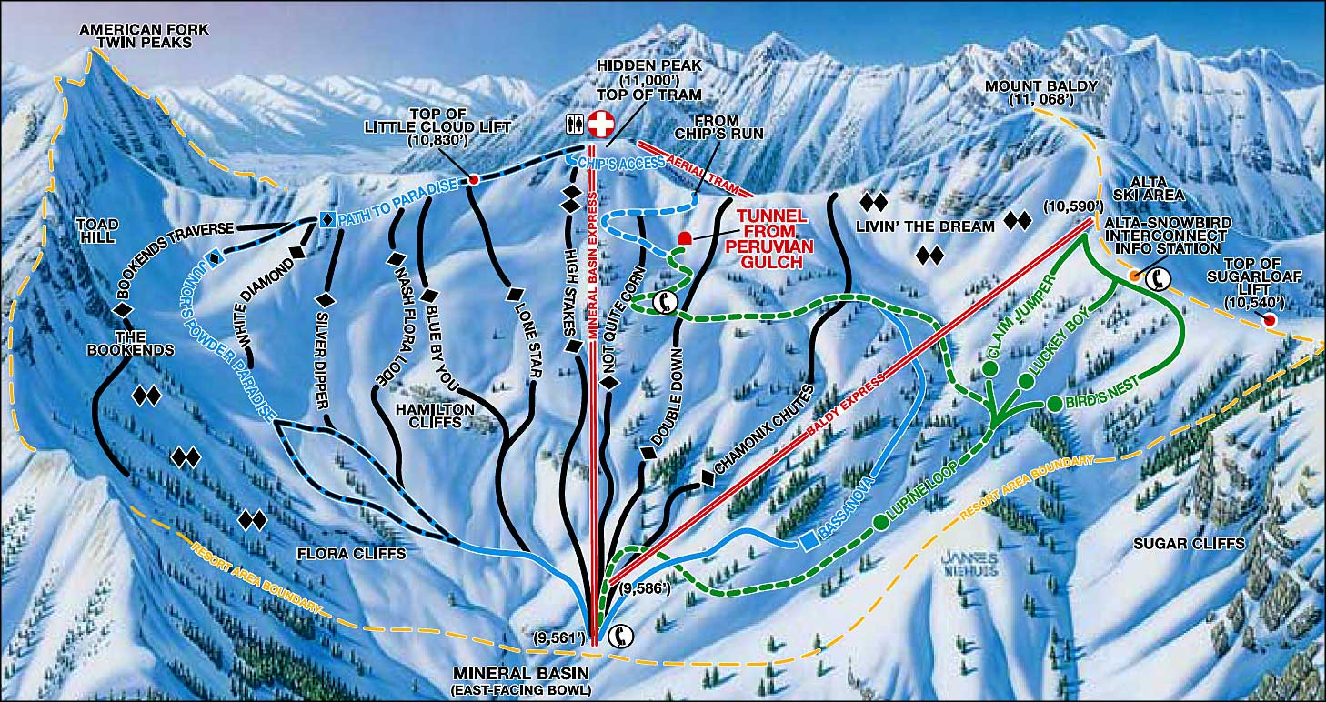 snowbird ski and summer resort | the sights and sites of america