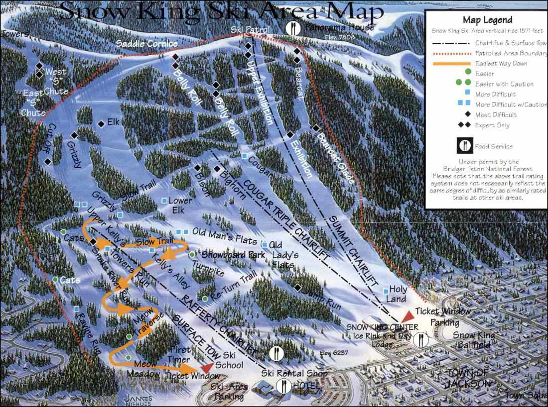 snow king ski resort   the sights and sites of america